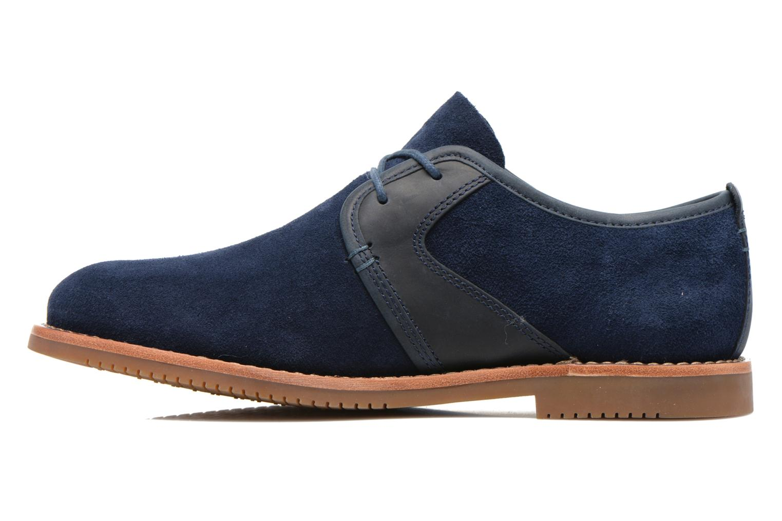 Zapatos con cordones Timberland Brooklyn Park Leather Ox Azul vista de frente
