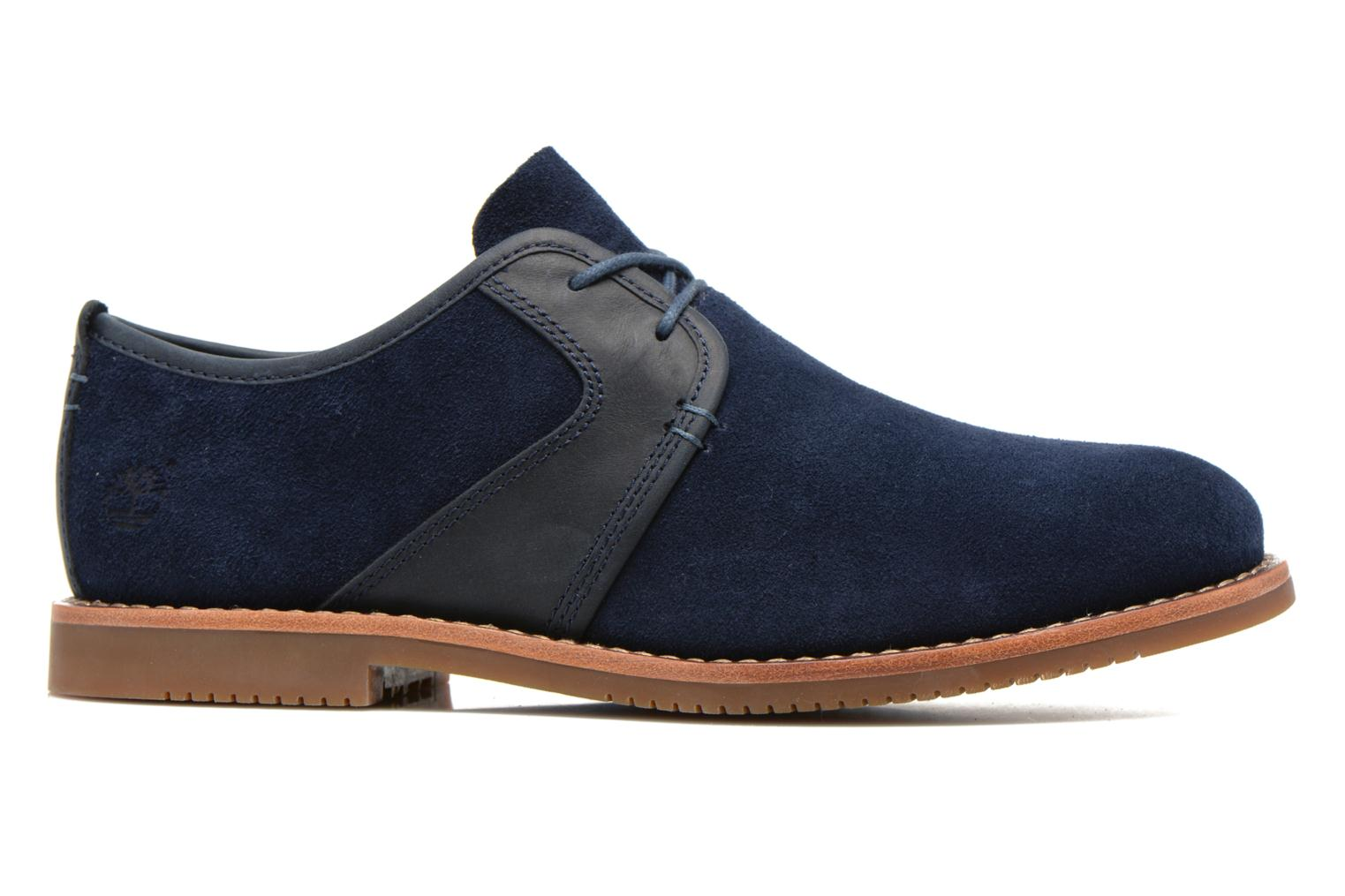 Zapatos con cordones Timberland Brooklyn Park Leather Ox Azul vistra trasera