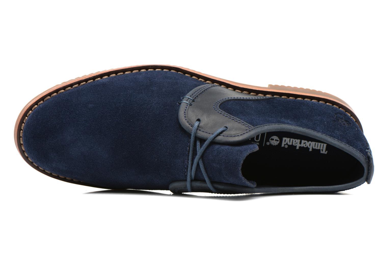 Chaussures à lacets Timberland Brooklyn Park Leather Ox Bleu vue gauche
