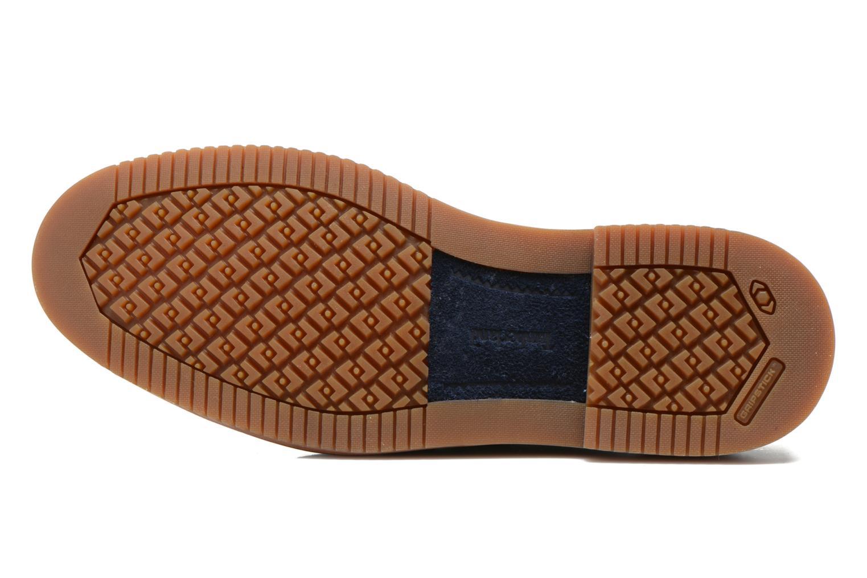Chaussures à lacets Timberland Brooklyn Park Leather Ox Bleu vue haut