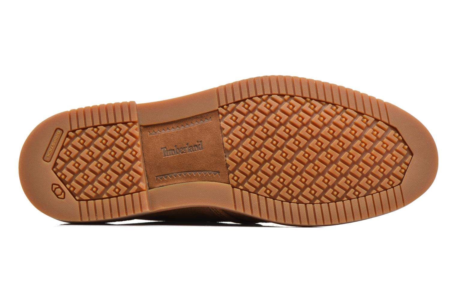 Chaussures à lacets Timberland Brooklyn Park Leather Ox Beige vue haut
