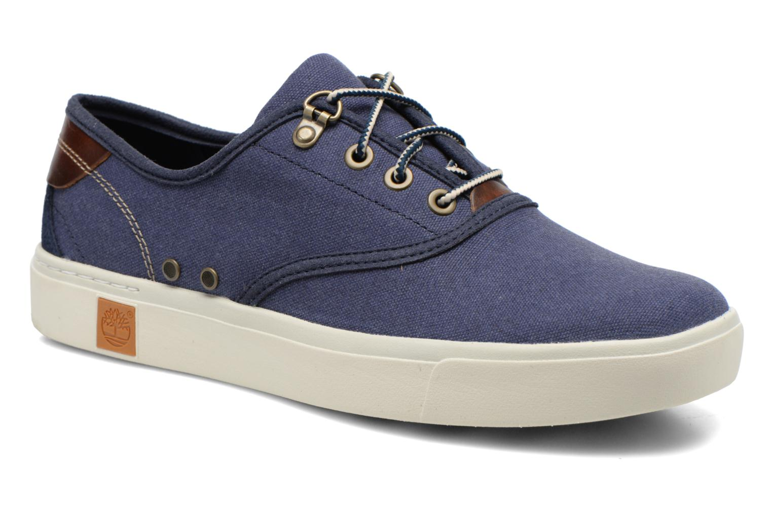 Amherst Oxford Black Iris Washed Canvas