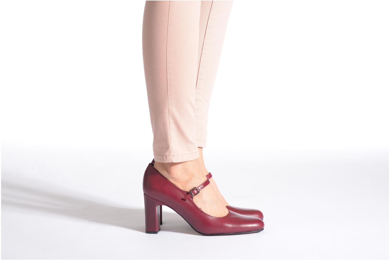 High heels Elizabeth Stuart Gix 304 Black view from underneath / model view