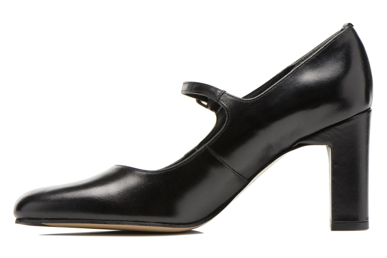 High heels Elizabeth Stuart Gix 304 Black front view