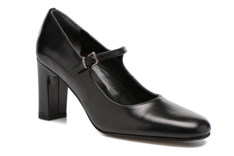 High heels Elizabeth Stuart Gix 304 Black detailed view/ Pair view
