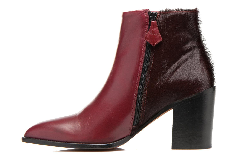 Ankle boots Elizabeth Stuart Java 922 Burgundy front view