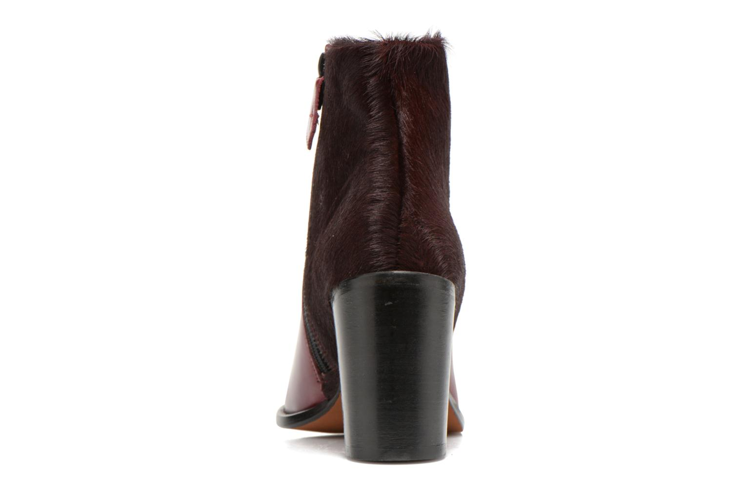 Ankle boots Elizabeth Stuart Java 922 Burgundy view from the right