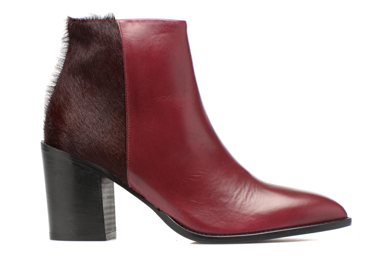 Ankle boots Elizabeth Stuart Java 922 Burgundy back view