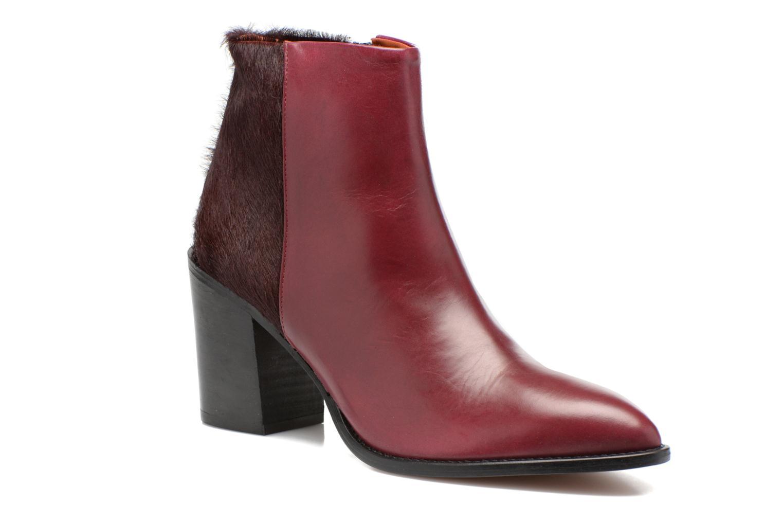 Ankle boots Elizabeth Stuart Java 922 Burgundy detailed view/ Pair view