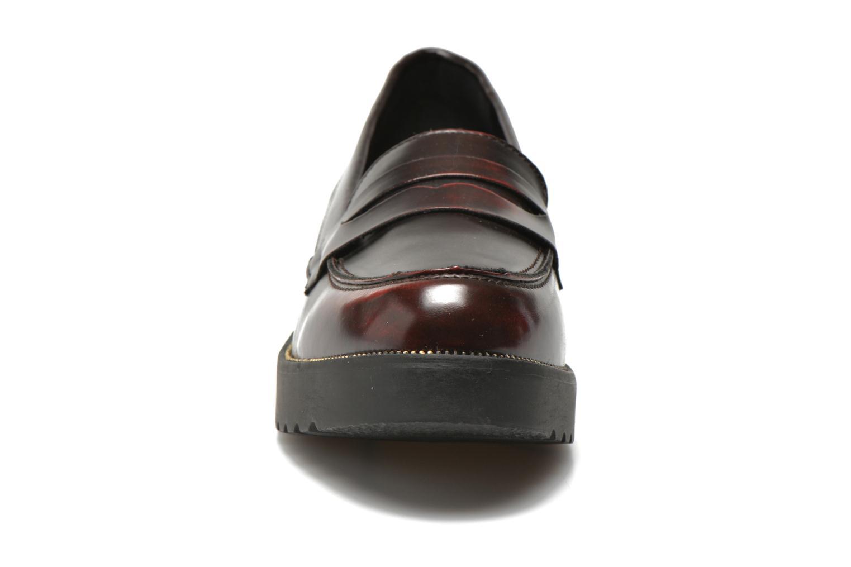 Mocassins I Love Shoes THEVIA Bordeaux vue portées chaussures