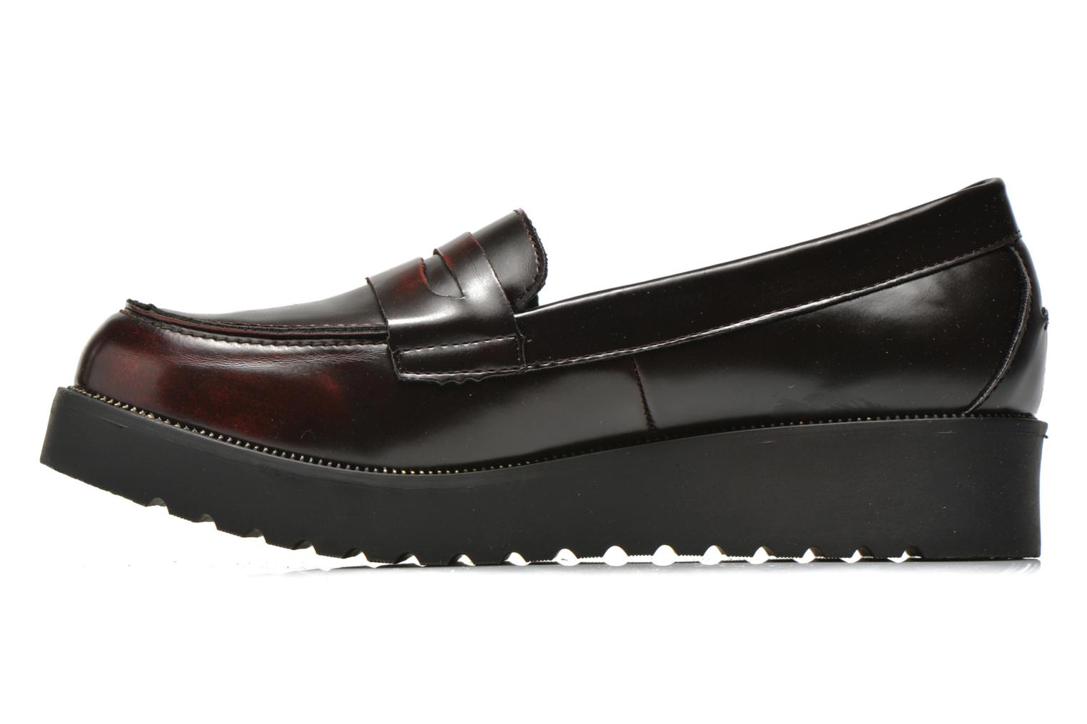 Loafers I Love Shoes THEVIA Burgundy front view