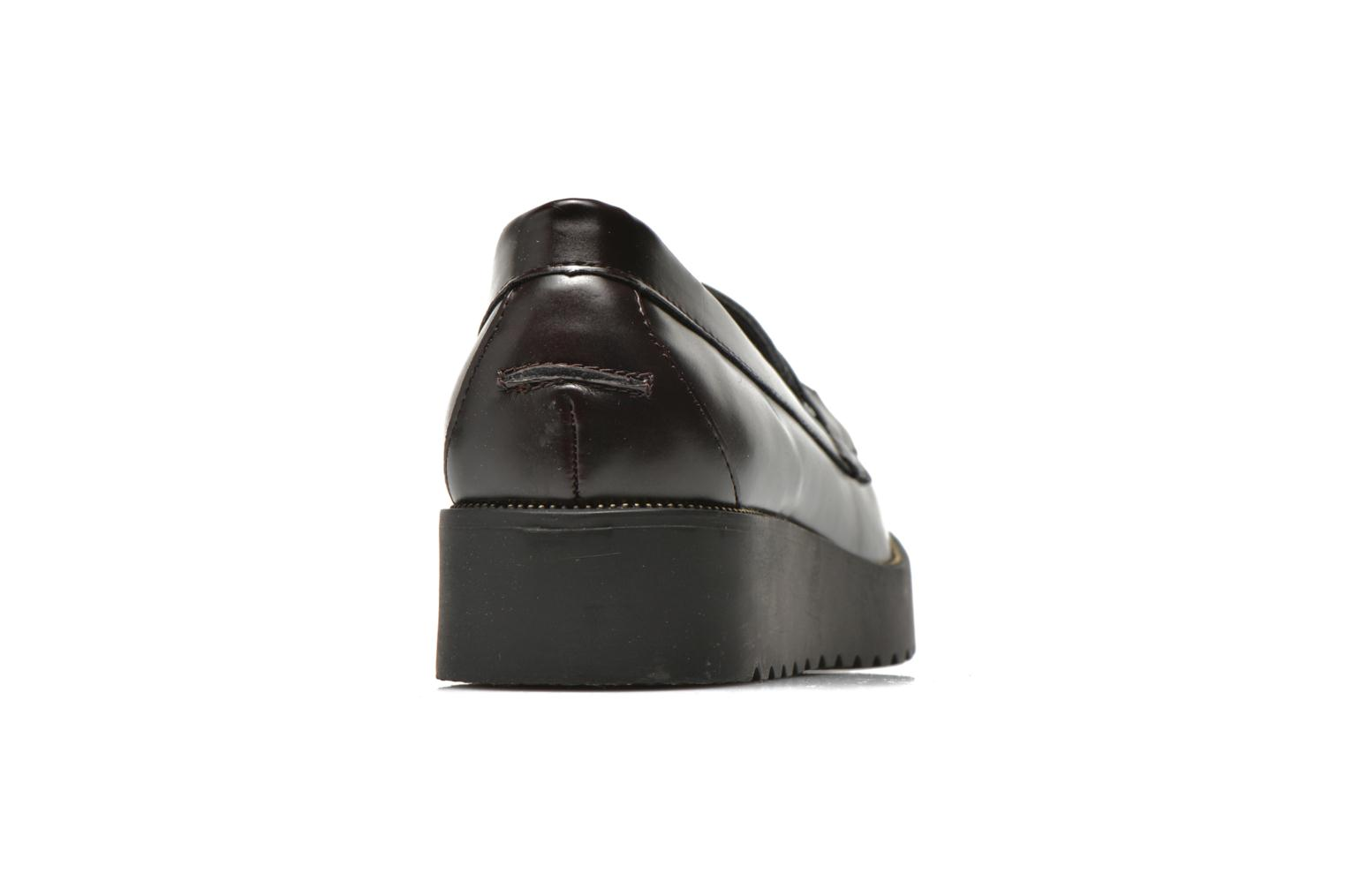 Mocassins I Love Shoes THEVIA Bordeaux vue droite