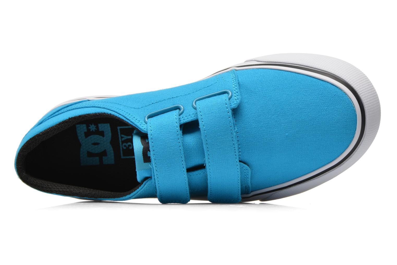 Baskets DC Shoes Trase V Kids Bleu vue gauche