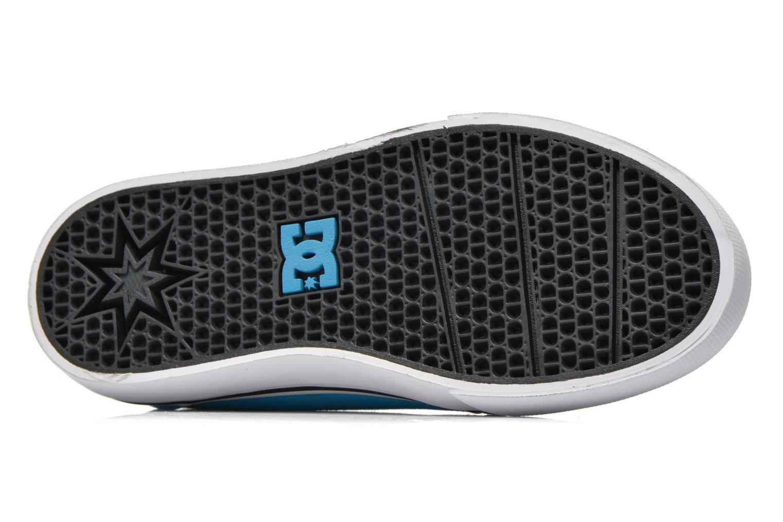 Baskets DC Shoes Trase V Kids Bleu vue haut