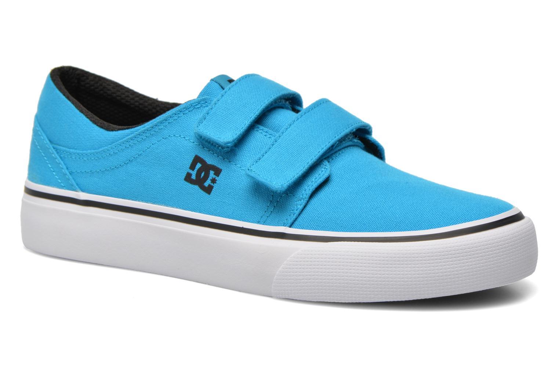 Baskets DC Shoes Trase V Kids Bleu vue détail/paire