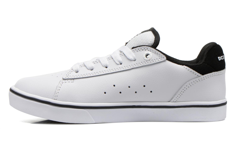 Baskets DC Shoes Notch B Blanc vue face