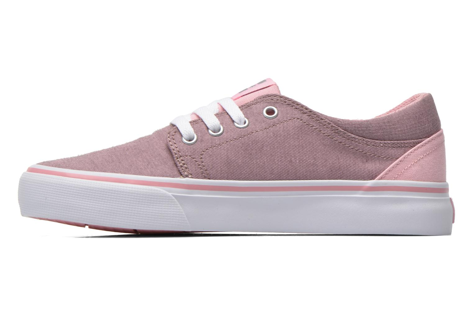 Trainers DC Shoes Trase Tx Se G Pink front view
