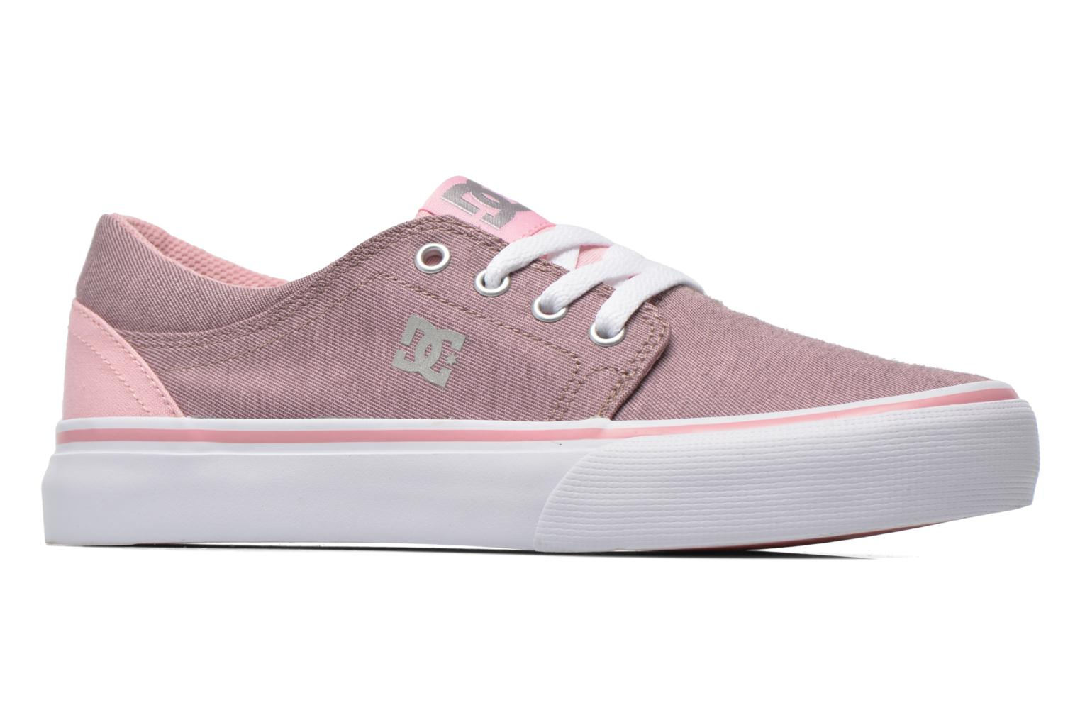 Trainers DC Shoes Trase Tx Se G Pink back view