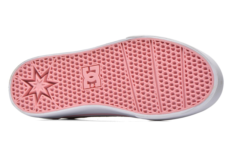Baskets DC Shoes Trase Tx Se G Rose vue haut