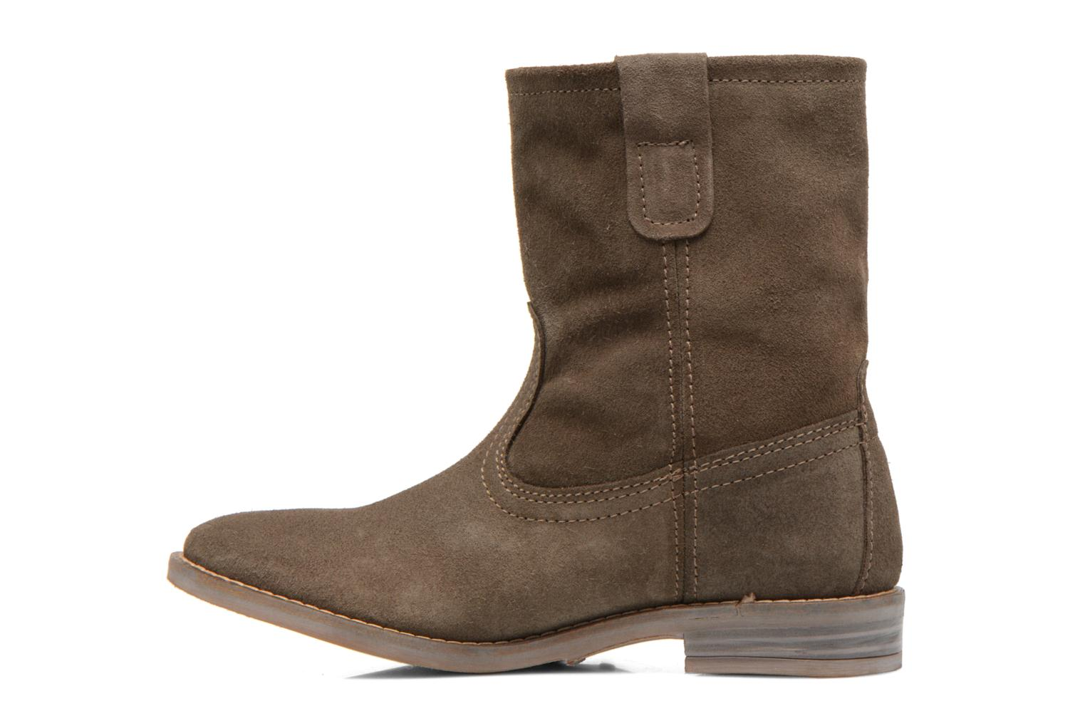 Ankle boots Buffalo Lisa Green front view