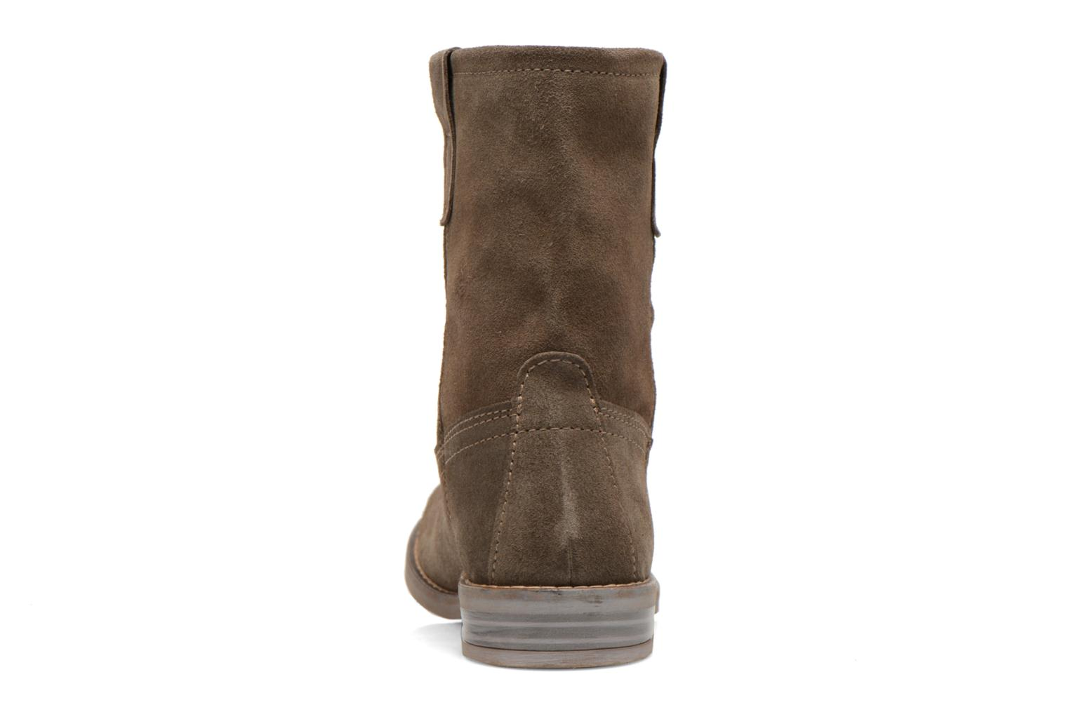 Ankle boots Buffalo Lisa Green view from the right