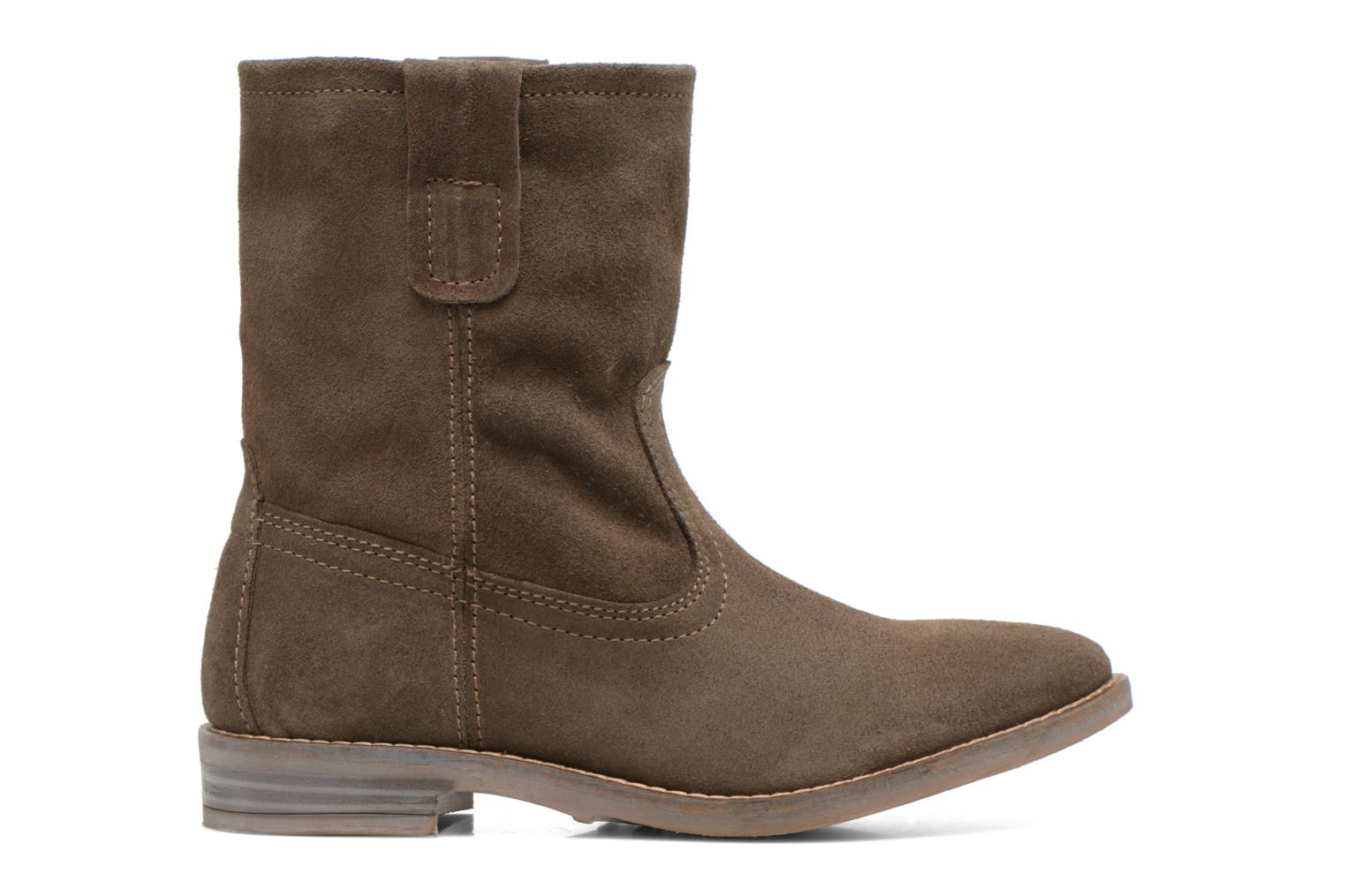 Ankle boots Buffalo Lisa Green back view