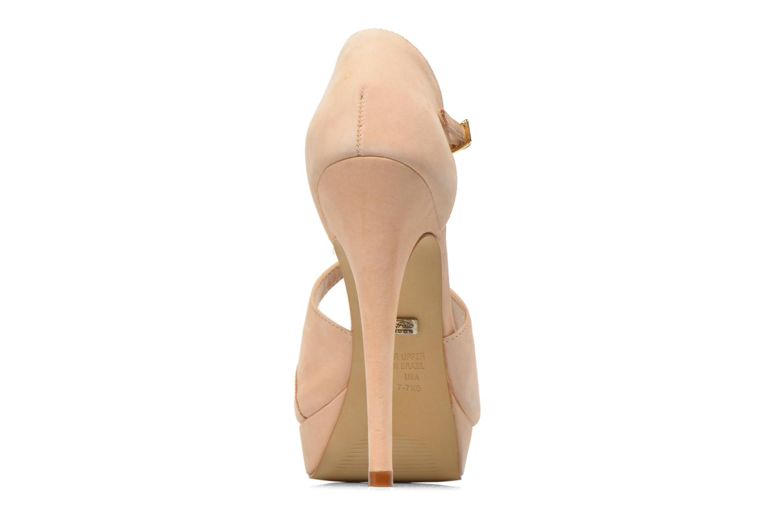 Sandals Buffalo Alicia Beige view from the right