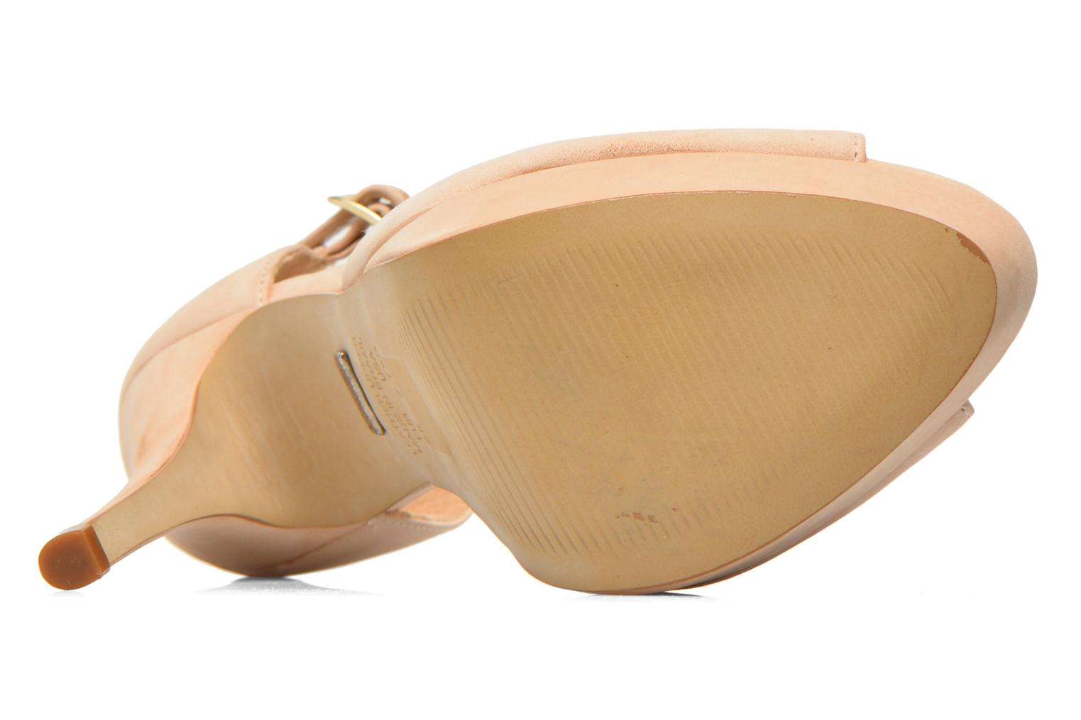Sandals Buffalo Alicia Beige view from above