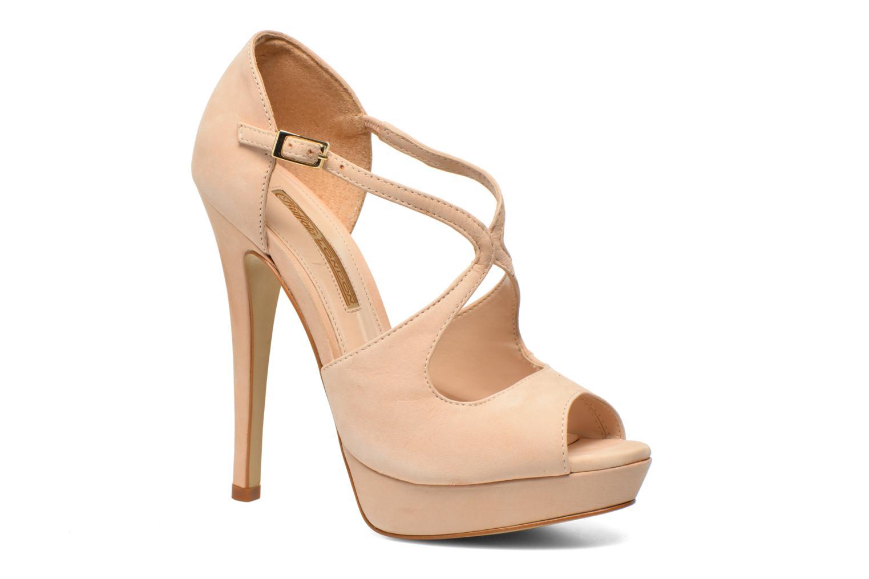 Sandaler Buffalo Alicia Beige detaljeret billede af skoene