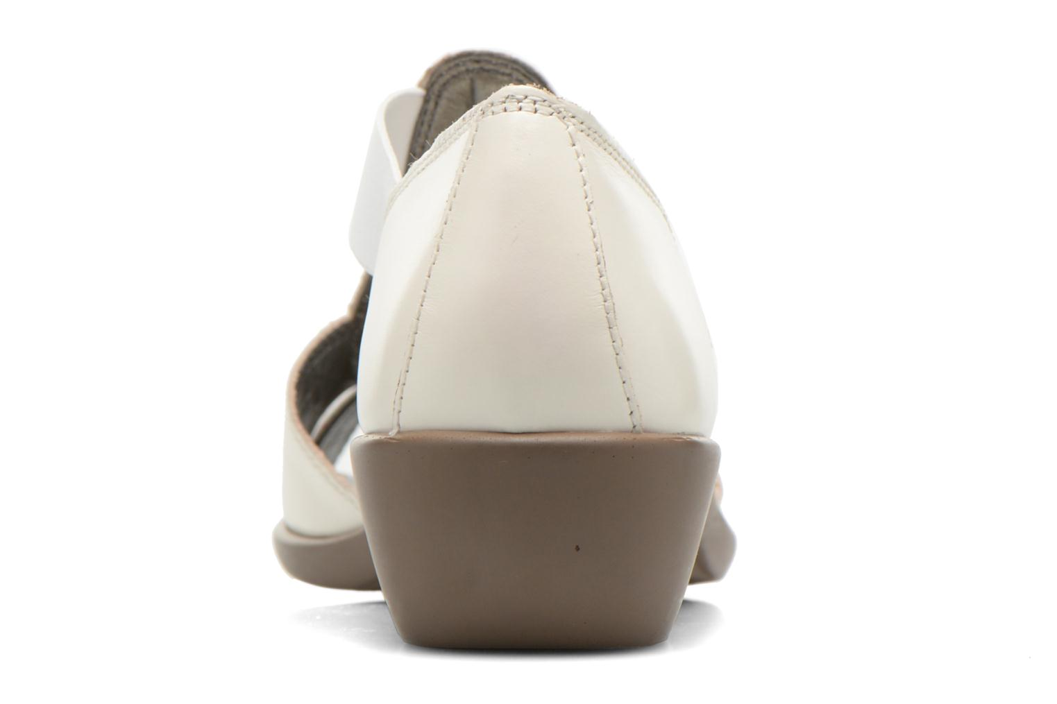 Sandals Aerosoles Easy Rider White view from the right