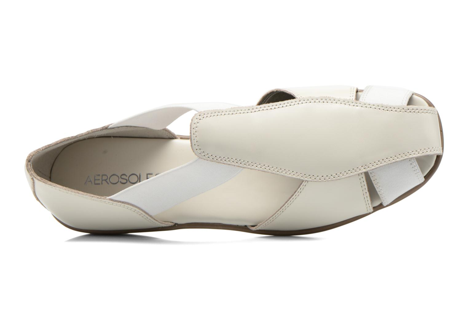 Sandals Aerosoles Easy Rider White view from the left