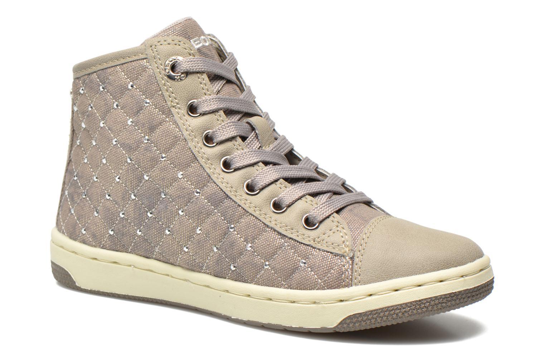 Baskets Geox J Creamy B J54L5B Gris vue détail/paire