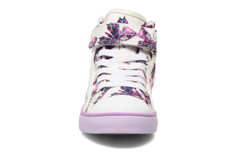 Baskets Geox J Ciak G. C J6204C Violet vue portées chaussures