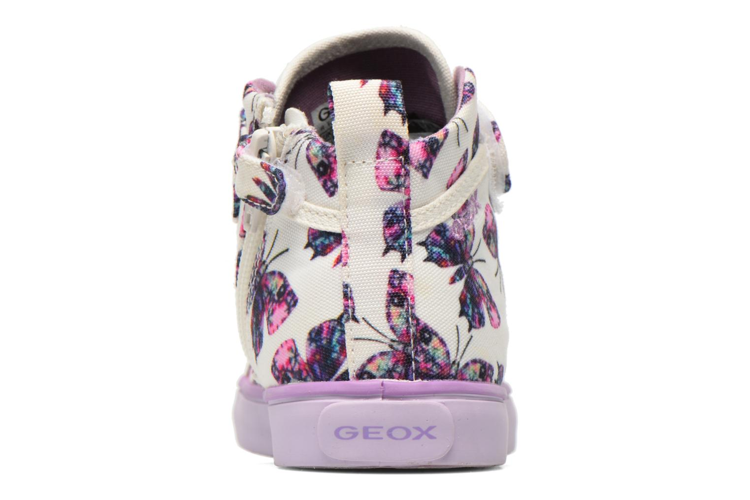 Trainers Geox J Ciak G. C J6204C Purple view from the right