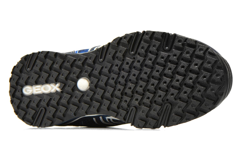 Sneakers Geox J Bernie B J6211B Azzurro immagine dall'alto