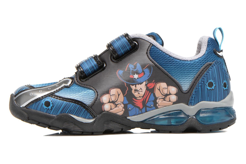 Sneaker Geox J Lt Eclipse J621BA blau ansicht von vorne