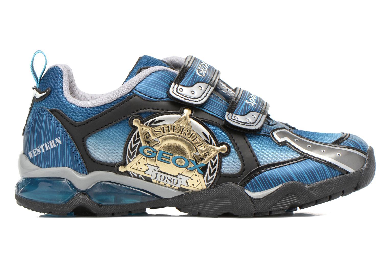 Sneaker Geox J Lt Eclipse J621BA blau ansicht von hinten