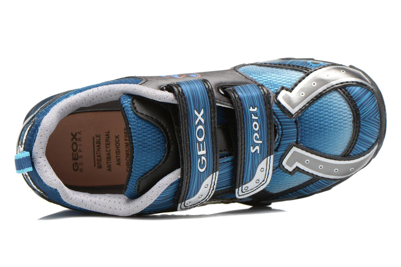 Trainers Geox J Lt Eclipse J621BA Blue view from the left