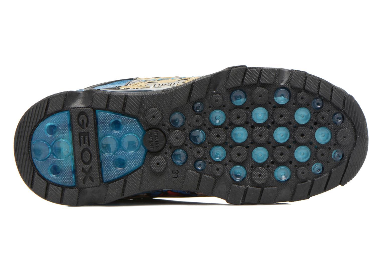 Sneaker Geox J Lt Eclipse J621BA blau ansicht von oben