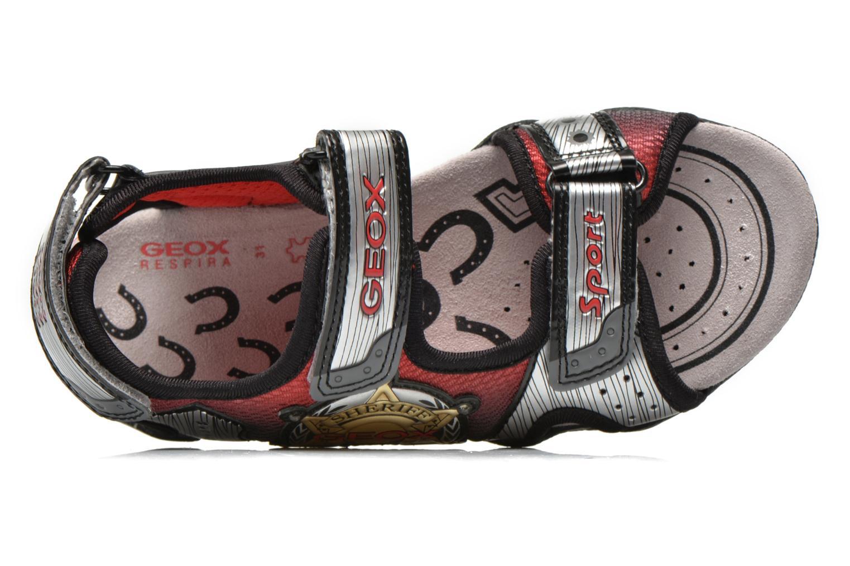 Sandales et nu-pieds Geox J Sand.Strike A J6224A Argent vue gauche