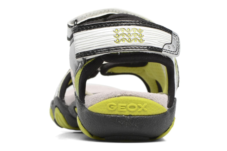 Sandales et nu-pieds Geox J Sand.Strike A J6224A Blanc vue droite