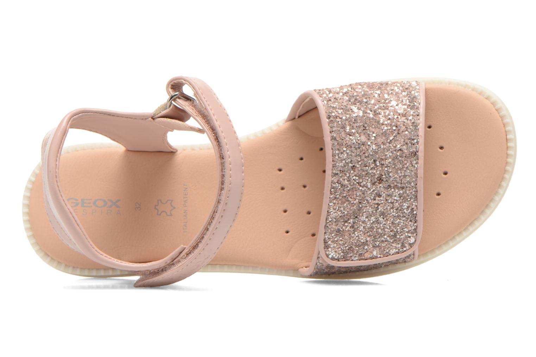 Sandales et nu-pieds Geox J Sand.Karly C J6235C Rose vue gauche
