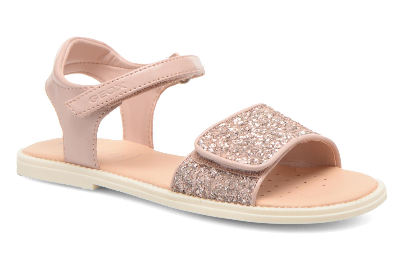 Sandales et nu-pieds Geox J Sand.Karly C J6235C Rose vue détail/paire