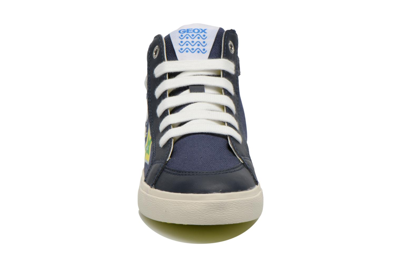 Sneaker Geox J Kiwi B. C J62A7C blau schuhe getragen