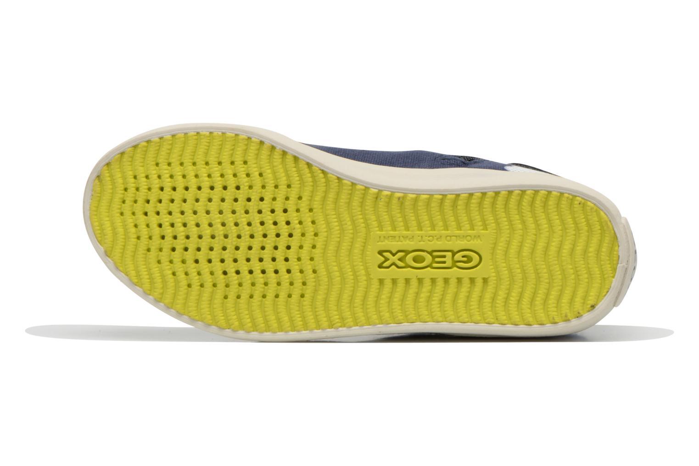 Sneaker Geox J Kiwi B. C J62A7C blau ansicht von oben