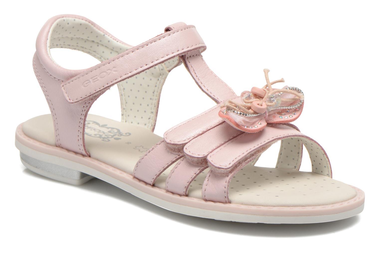 Sandales et nu-pieds Geox J Sand.Giglio A J62E2A Rose vue détail/paire