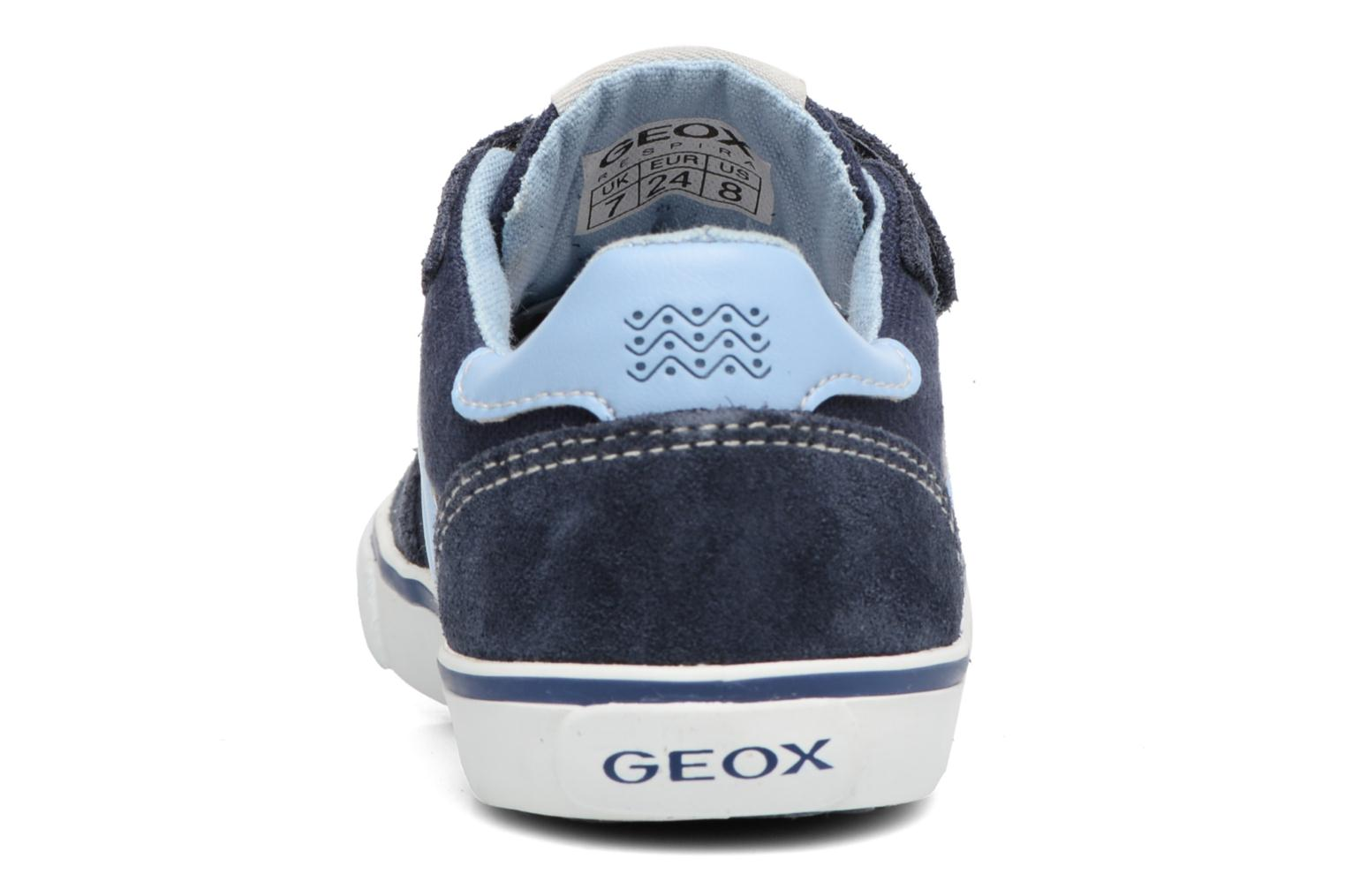 Trainers Geox B Kiwi B. E B62A7E Blue view from the right