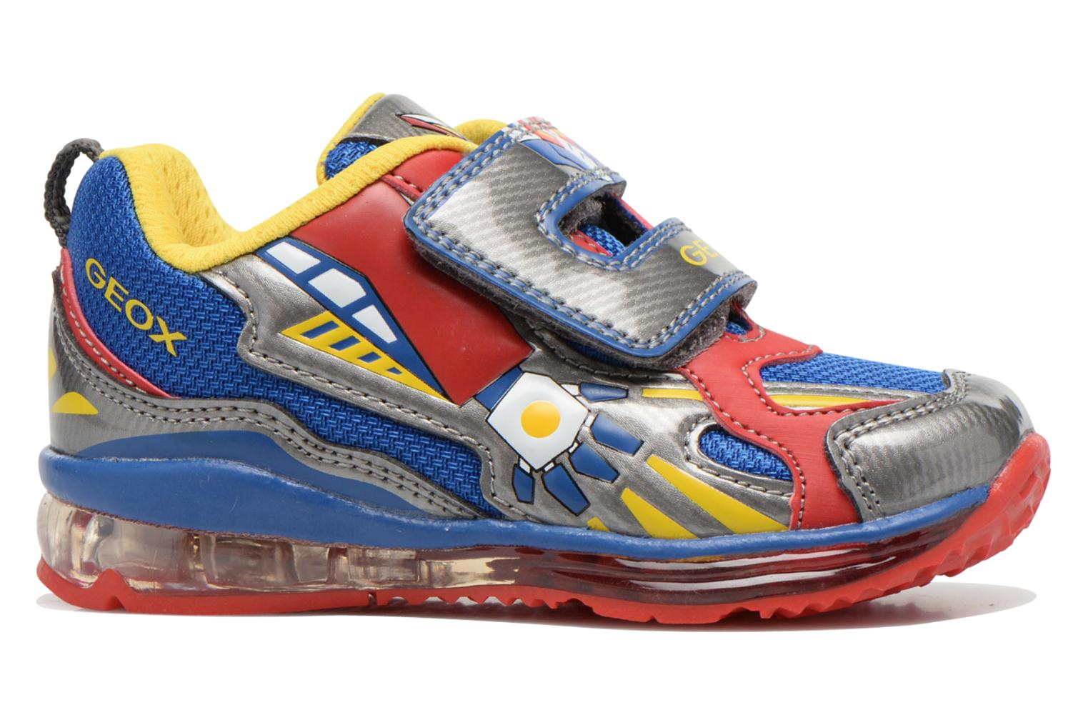 Trainers Geox B TODO B. A B6284A Multicolor back view