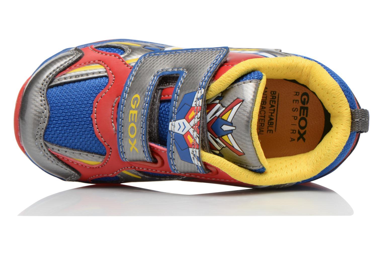 Sneaker Geox B TODO B. A B6284A mehrfarbig ansicht von links