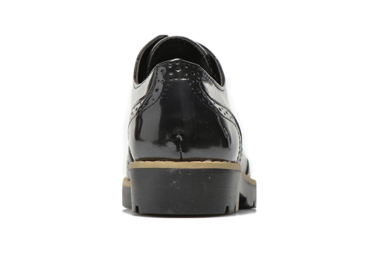 Zapatos con cordones I Love Shoes THINA Size + Negro vista lateral derecha